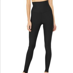 Alo ultra high waist black leggings XS